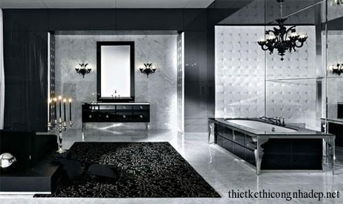 Mẫu thiết kế nội thất phòng tắm hiện đại số 3