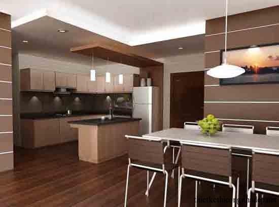 mẫu thiết kế phòng bếp số 15