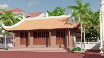 Thiết kế nhà thờ từ đường dòng họ