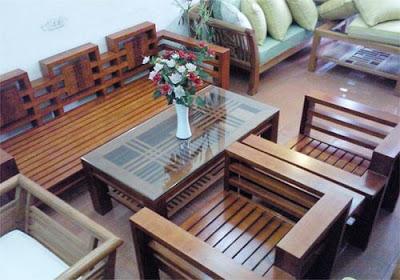 mẫu bàn ghế sofa gỗ số 11