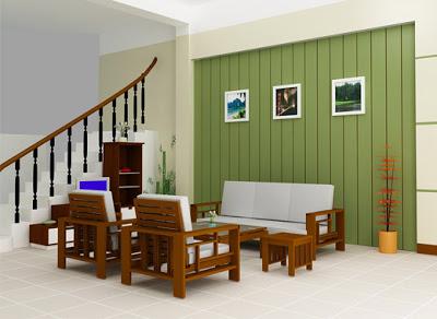 mẫu bàn ghế sofa gỗ số 9