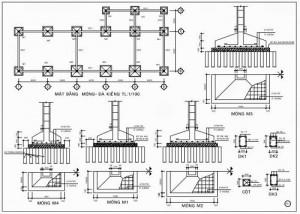 Bản vẽ thiết kế kiến trúc nhà sàn hiện đại