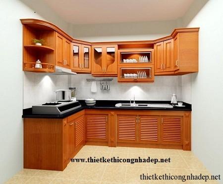 mẫu tủ bếp hiện đại số 2