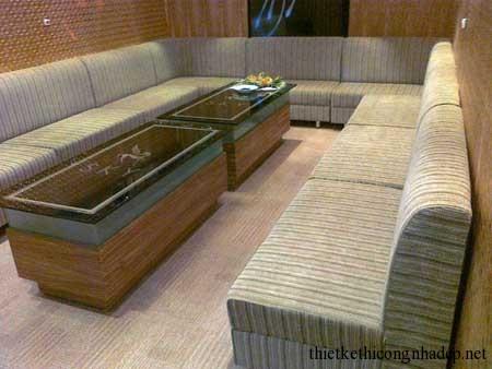 mẫu sofa phòng hát karaoke số 11