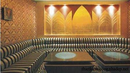 mẫu sofa phòng hát karaoke số 8
