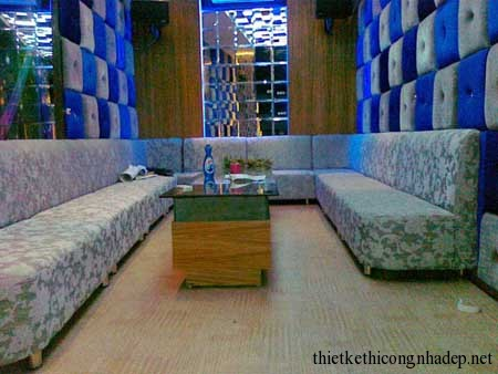 mẫu sofa phòng hát karaoke số 9