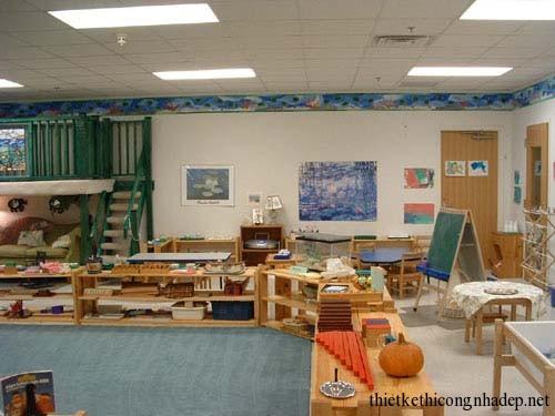 Thiết kế không gian vui chơi cho trẻ em