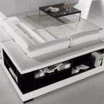 Tích hợp sofa với giá sách – Sofa bookshelf