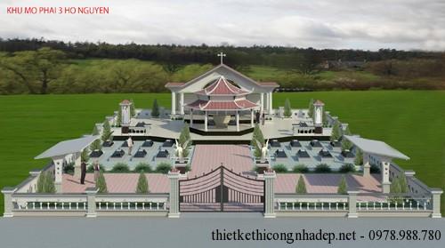 Bản vẽ nhà thờ họ Nguyễn tỉnh Bà Rịa – Vũng Tàu