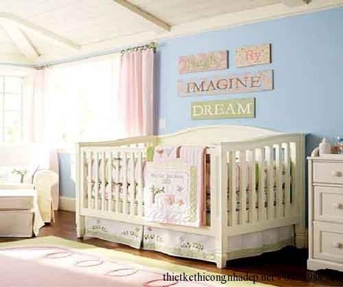 Mẫu giường cũi cho trẻ em đẹp
