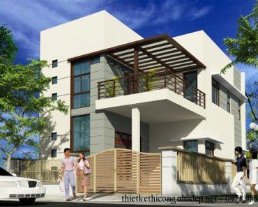 Phối cảnh thiết kế kiến trúc