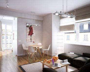 Thiết kế nội thất căn hộ cho cặp vợ chồng trẻ