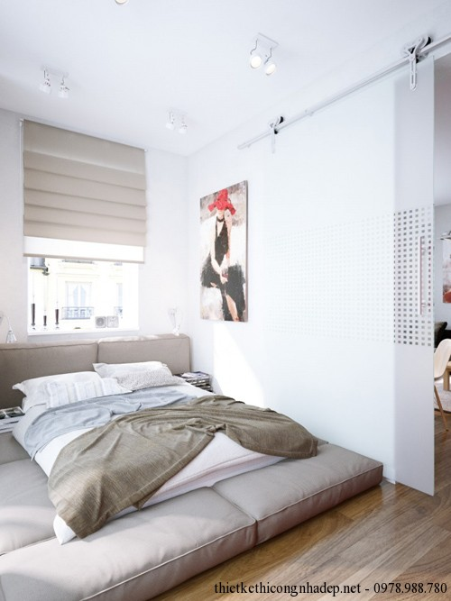 Phòng ngủ của căn hộ