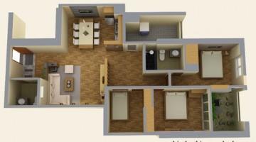 Thiết kế nội thất nhà chung cư cao cấp đẹp