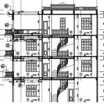 Thiết kế kiến trúc và mặt bằng nhà phố 4 tầng 4.2 x 13.3
