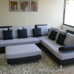 Mẫu bàn ghế sofa góc phòng khách bằng da, nỉ hiện đại