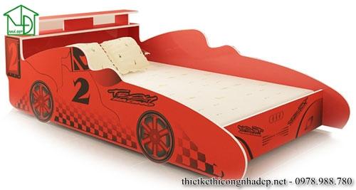 Mẫu giường ngủ hình ô tô