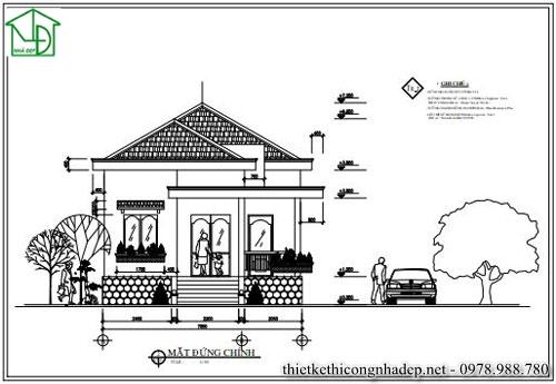 Cửa đi chính của ngôi nhà