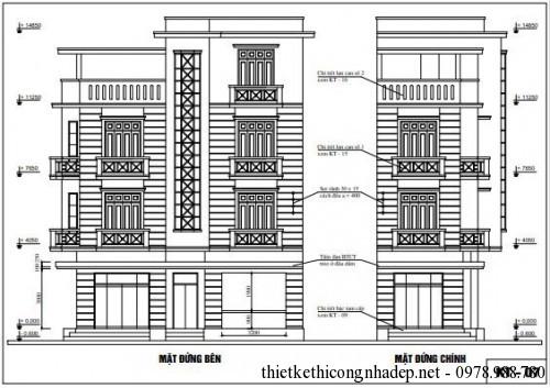 Thiết kế kiến trúc của nhà phố