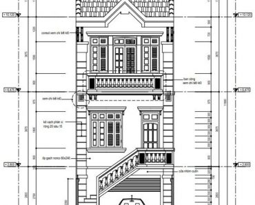 mặt tiền nhà phố 5x20m