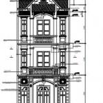 Mẫu thiết kế nhà phố 3 tầng đẹp hiện đại diện tích 6x24m