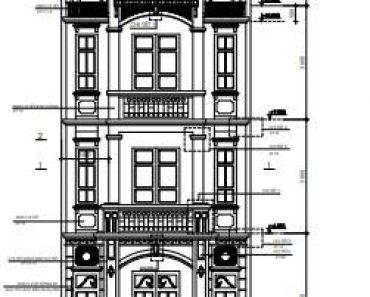 Mặt tiền nhà phố 3 tầng hiện đại