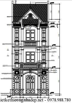nhà phố 3 tầng 6x24m