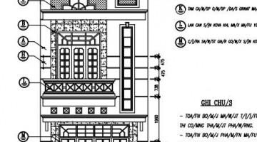 Mẫu thiết kế nhà phố 3 tầng đẹp hiện đại 4.7x15m