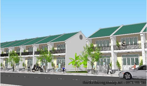 thiết kế kiến trúc nhà cấp 4 số 1