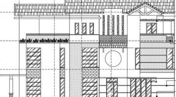 Thiết kế biệt thự 3 tầng hợp phong thủy 10 x 19.4