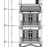 Thiết kế nhà phố 4 tầng diện tích 5×15 mét