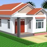 8 mẫu thiết kế nhà cấp 4 đẹp nông thôn mái tôn hiện đại