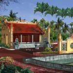 Thiết kế từ đường họ Bùi Tộc tại Nho Quan Ninh Bình