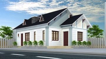 Thiết kế nhà cấp 4 tại Hưng Yên diện tích 8.5×12.5m