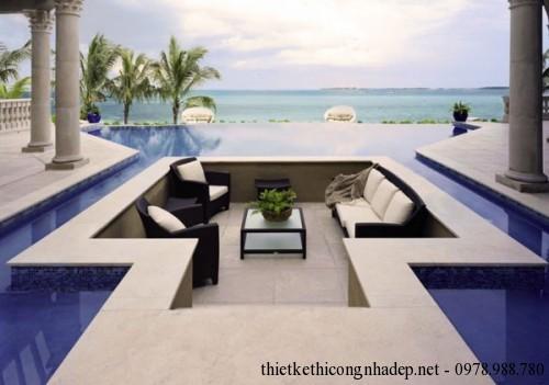Ghế sofa hình vuông