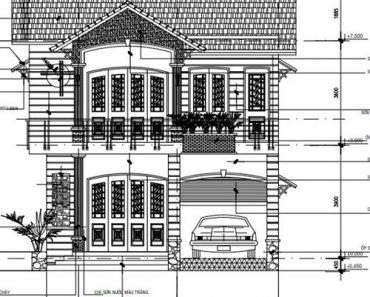mặt tiền nhà 2 tầng