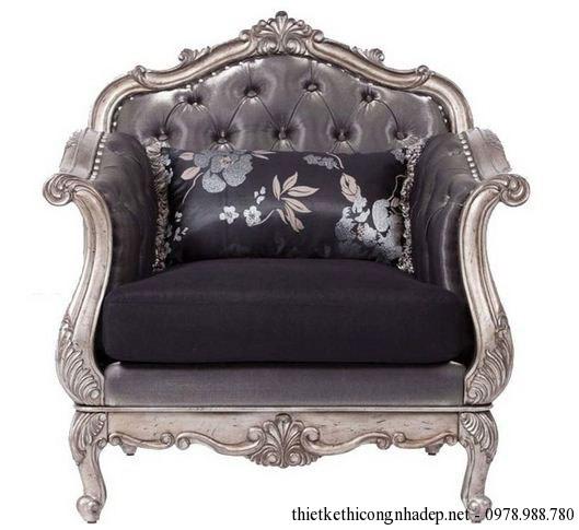 ghế sofa cổ điển đơn
