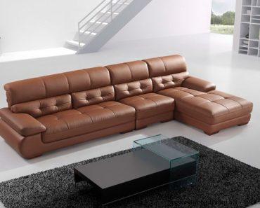 ghế sofa da phòng khách