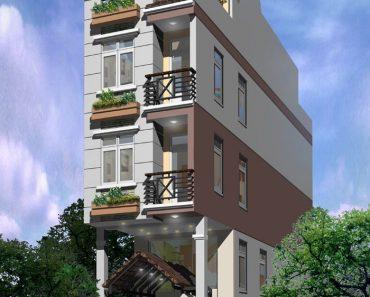 Phối cảnh kiến trúc phương án 1