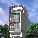 Bản vẽ thiết kế nhà phố 4 tầng 5x13m 2 phương án kiến trúc