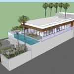 Thiết kế biệt thự nghỉ dưỡng 2 tầng Nha Trang Khánh Hòa