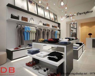 phối cảnh cửa hàng thời trang góc 1