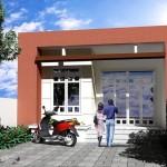Thiết kế trang trí nội thất nhà cấp 4 có 3 phòng ngủ 6x23m