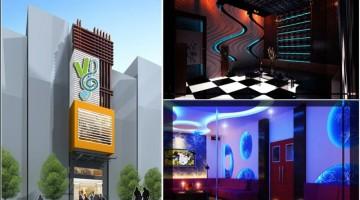 Thiết kế nội thất phòng karaoke nhà phố hiện đại 5x20m