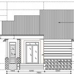 Mẫu nhà cấp 4 đẹp hiện đại mái thái 7.8x15m