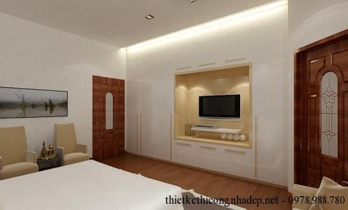 Kệ tivi nội thất phòng ngủ master