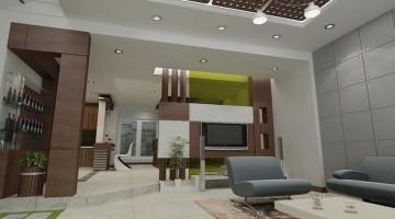 Mẫu thiết kế nội thất nhà phố 4 tầng hiện đại đẹp 7x20m