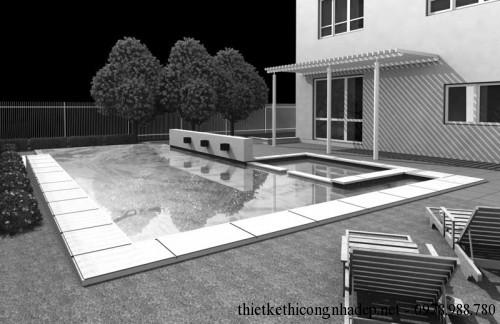 Bể bơi góc nhìn 2
