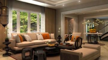 Thiết kế nội thất biệt thự nhà đẹp tân cổ điển 11x21m