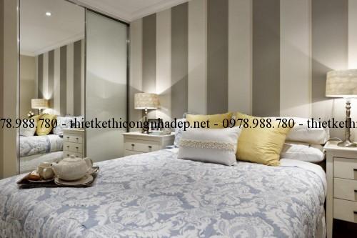 Phòng ngủ master biệt thự 10x24m